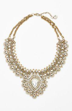 Holiday bling: Bib necklace