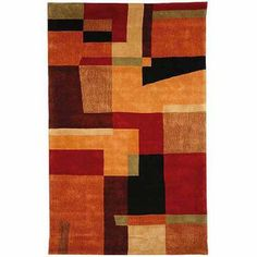 Safavieh Rodeo Drive Lewis Hand-Tufted Wool Area Rug, Multi, Multicolor