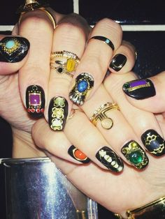 DISCO NAILのネイル/ハンドケアを使ったeriさんのコーディネートです。│new nail! 指輪はVTOPIA、...