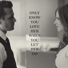 Suits i love harvey and donna .... together
