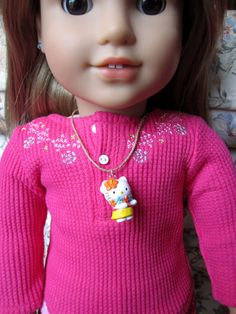 Hula Kitty  American Girl Doll Clothes / Jewelry by by GillyGals