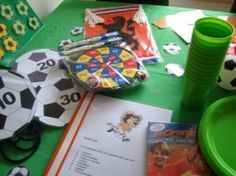 Draaiboek kinderfeestje voetbalfeestje www.themakinderfeestjes.nl