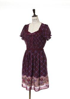 チェック柄ワンピース Tokyo Shopping, Cold Shoulder Dress, Summer Dresses, Clothes, Collection, Fashion, Woman, Outfits, Moda