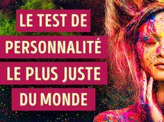 Test de personnalité : Ce test basé sur l'analyse de votre comportement pendant une conversation qui vous aiderons à déterminer votre type de personnalité