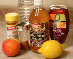 This detox drink will flush everything out! Fat burning too! apple cider vinegar detox cinnamon drink lemon | Chiara Marie