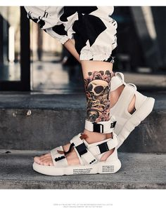 Best New 2019 Fashion Summer Mens Gladiator Sandals – wensgo Beach Sandals, Gladiator Sandals, Open Toe, Ankle Strap, Platform, Nice Things, Boots, Summer, Stuff To Buy