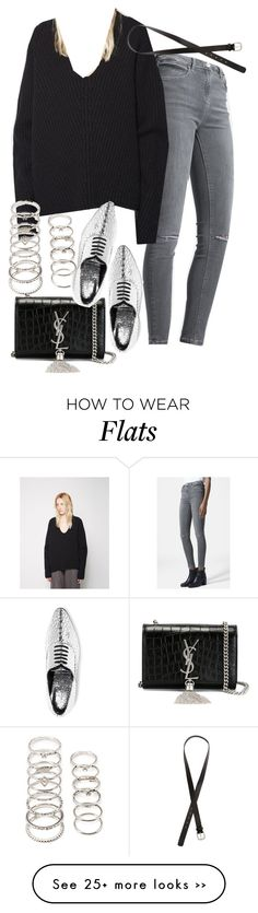"""Untitled #1822"" by alx97 on Polyvore featuring Topshop, Acne Studios, Forever 21, Yves Saint Laurent, Michael Kors and H&M"
