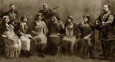 Russian Gypsies' choir, stage costume