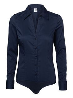 @Veronica MODA #Graphic #midnight blue  COUSIN L/S BODY G STR. SHIRT COLOR AIR, Black Iris, main