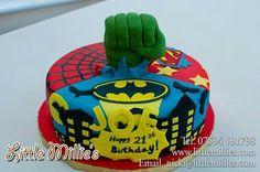 Gave superhelden taart