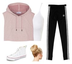 """""""Untitled #26"""" by taylorisawesome333 on Polyvore featuring beauty, Topshop, adidas, adidas Originals and Converse"""