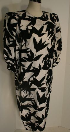 Flora Kung Special Edition Vintage black and by GrammyKayFinds