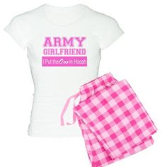 Army Girlfriend Ooo in Hooah_Pink Pajamas -- GirlWithDesignIdeas.com