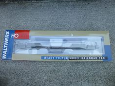Walthers 81' 4-Truck Depressed Center Flat Car #70103 HO Scale Train Car w/ Box…