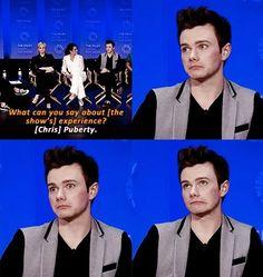 Best answer ever haah chriscolfer
