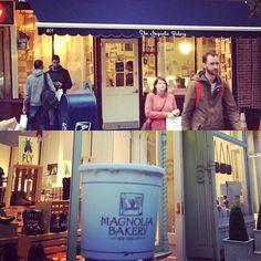 This time we had banana pudding!/Bu sefer muzlu puding yedik magnolia bakery'de #magnoliabakery #bleecker #nyc #gezenchi #travel #travelblogger #sexandthecity #seyahat #gezi #pastane