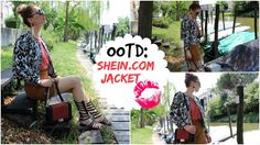Trench Collection by Sonia Verardo: OOTD: Gladiator Sandals & www.shein.com Jacket
