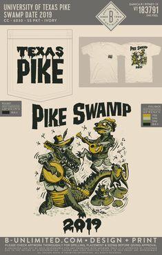 Pi Kappa Alpha Swamp Event Shirt   Fraternity Event   Greek Event #pikappaalpha #pike #pka Pi Kappa Alpha, Social Events, Fraternity, Greek, Feelings, Artwork, Shirts, Work Of Art, Auguste Rodin Artwork