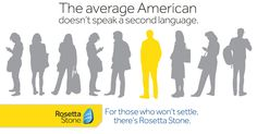 Rosetta Stone is the fast, effective, and fun way to learn a language!