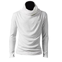 Mens Turtleneck Base Shirt Slim Fit Hot Game Cosplay Jumper Sweater White,X-Large Partiss http://www.amazon.co.uk/dp/B00E34ICZ4/ref=cm_sw_r_pi_dp_Wwm6wb1ZWW9T9
