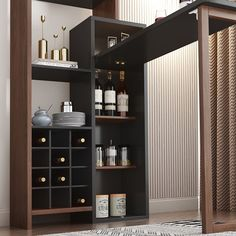 Small Bar Cabinet, Small Bar Table, Modern Bar Cabinet, Home Bar Cabinet, Bar Cabinets For Home, Bar Tables, Wine Cabinets, Kitchen Cabinets, Dining Table