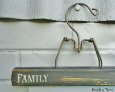Vintage Wooden Photo Display Hangers   by KnickofTime