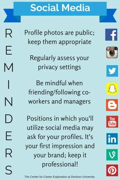 Social Media Quick Tips: how to keep things appropriate