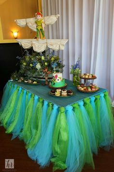 Peter Pan themed baby shower at 310 lakeside in Orlando, FL. Decor by atmospheres floral and decor http://atmospheresfloral.com and photos by Heather Rice Photography http://www.heatherricephotography.com/galleries/ #babyshower #peterpan #orlando #events #disney #flowers #nevergrowup #fairy #fairies #florals #succulents #fairygarden