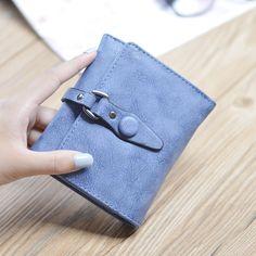 $7.87 (Buy here: https://alitems.com/g/1e8d114494ebda23ff8b16525dc3e8/?i=5&ulp=https%3A%2F%2Fwww.aliexpress.com%2Fitem%2FCITY-LIGHT-New-fashion-women-wallet-vintage-nubuck-leather-three-fold-women-wallets-lady-large-capacity%2F32777401118.html ) Hot selling nubuck leather short women wallets hasp fashion vintage 3 folds women coin purse handbag for just $7.87