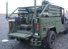 AGF (Aufklärungs- und Gefechtsfahrzeug) Serval LIV SO Serval (Light Infantry Vehicle Special Operations) used by German Army Kommando Spezialkräfte KSK http://en.wikipedia.org/wiki/LIV_(SO)_Serval