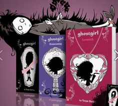 The ghostgirl triology! #ghostgirl #youngadult