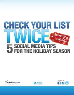 5 Social Media Tips for the Holiday Season