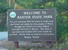 Baxter State Park: Mt Katahdin online information hiking trails MORE.