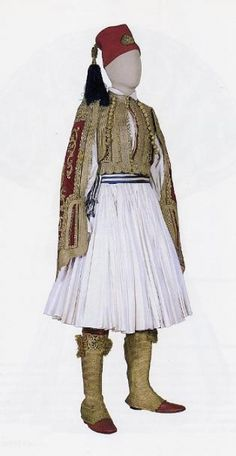 Costume of King Othon, the first King of Greece Greek Traditional Dress, Traditional Outfits, Dance Costumes, Greek Costumes, Albanian Culture, Greek Royalty, Costumes Around The World, Ethnic Dress, Greek Clothing