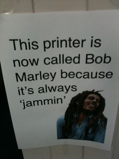 I am so doing this to our printer at work....office humor awesome idea!!! Lol