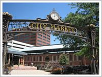 The city market houses several of my favorite food vendors along with Tomlinson Taproom where one can sample from many of the local breweries. And be sure to check out the farmer's market on Wednesdays.