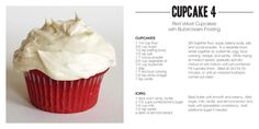 Red Velvet Cupcakes with Butter Cream Frosting (cupcakes,buttercream,frosting,recipes,dessert) Gourmet Cupcakes, Fun Cupcakes, Cupcake Recipes, Baking Recipes, Cupcake Cakes, Dessert Recipes, Fun Recipes, Cupcake Ideas, Amazing Cupcakes