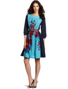 Tracy Reese Women's Contrast Frock Dress | fashmazing.com