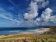 View of Whitesand Bay by Roger Butterfield, via Geograph - Sennen Cove, Cornwall