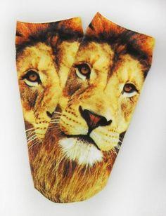Women's Lion Ankle Socks Okutani. $6.50
