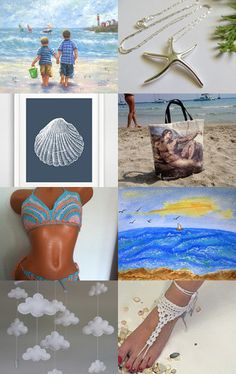 Beach Time! by Lisa Gossman-Steeves on Etsy--Pinned with TreasuryPin.com