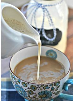 Domino shares reasons to never buy coffee creamer again (and how to make your own!). Coffee drinks, coffee lover, coffee recipes