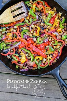 Potato and Pepper Breakfast Hash — The Local Vegan™ | Official Website