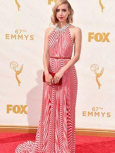 Zoe Kazan - in Miu Miu at the 2015 Emmys