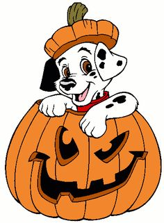 Dalmatian Puppy 2 - Halloween - Holiday Disney Character Designs as SVG Vector for Print in 5 formats - Halloween Yard Displays, Halloween Yard Art, Halloween Yard Decorations, Halloween Themes, Fall Halloween, Halloween Crafts, Happy Halloween, Disney Halloween, Halloween Cartoons