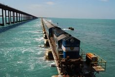 Chennai-Rameswaram route is located in Tamil Nadu, district Ramanathapuram, India. Its total area is 53 kilometers square and elevation is 10 meters. This railroad contains Pamdan Bridge that was opened in 1914. This bridge is spread to Rameswaram Island. It shows a good interest of Indian locomotive engineers.