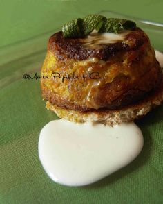 Menta Piperita and Co.: Tortino di zucchine con pancarrè croccante e salsa...