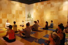 ideas for my yoga room  The Little Yoga Studio