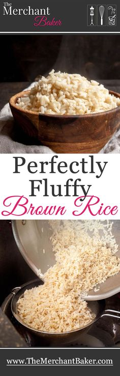 Perfectly Fluffy Brown Rice