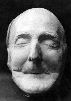 Death mask of Arthur Wellesley, 1st Duke of Wellington http://www.npg.org.uk/collections/search/portrait/mw06679/Arthur-Wellesley-1st-Duke-of-Wellington